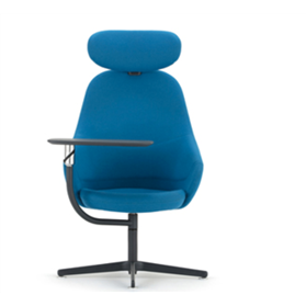 Senator Ad-Lib Work Lounge Chair Designed by Pearson Lloyd