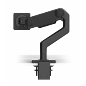 Humanscale M10 Monitor Arm with Black Trim, Clamp Mount