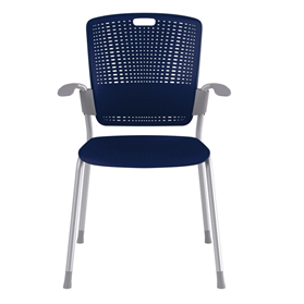 Humanscale Cinto Four Leg Stacking Armchair