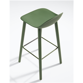 Allermuir KIn Low Back High BarStool Designed By Pearson Lloyd