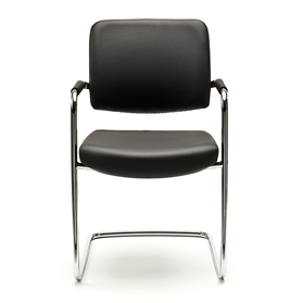 Senator Symmetry Stacking Visitor Cantilever Chair