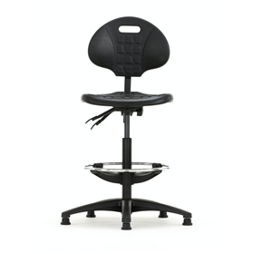 Torasen Industrial Round Back Draughtmans chair