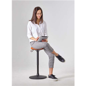 Viasit Cloonch Height Adjustable Sit Stand Stool