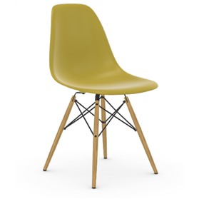 Vitra Eames DSW Chair, Mustard