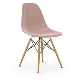 Vitra Eames DSW Chair, Pale Rose