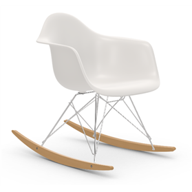 IN STOCK Vitra Eames RAR Rocking Chair, White