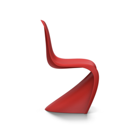 Verner Panton Chair by Vitra, Classic Red