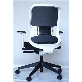 Orangebox Do Chair White frame black base Technical Mesh 3-5 working day delivery