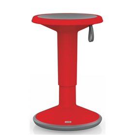 Interstuhl UPis1 Adjustable Stool, Red