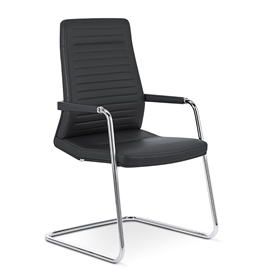Interstuhl Vintage is5 High Back Cantilever Meeting Chair
