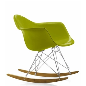 Vitra Eames RAR Rocking Chair, Mustard