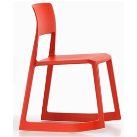 Vitra Tip Ton Chair, Poppy Red (03)