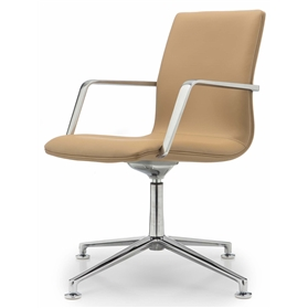 William Hands Cypher Conference 1 Low Back Swivel chair, Tech Arm