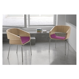 Pedrali Apple Four Leg Chair