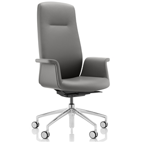 Boss Design Mea High Back Leather Chair