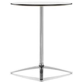 Boss Design Axis 1050mm High White Poseur Table