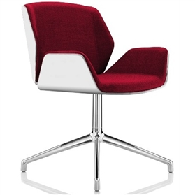 Boss Design Kruze Chair White Formica