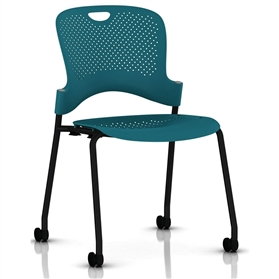 Herman Miller Caper Stacker Chair - Black