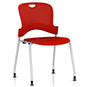 Herman Miller Caper Stacker Chair - Silver Frame