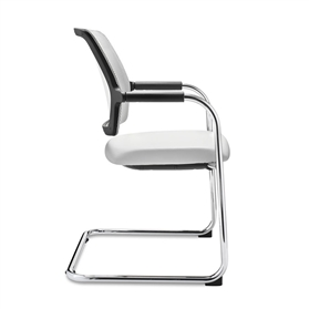 Dauphin Dat-o Mesh Cantilever Visitor Chair
