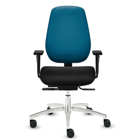 Dauphin Shape Economy High Back Syncro-Activ-Balance Office Chair
