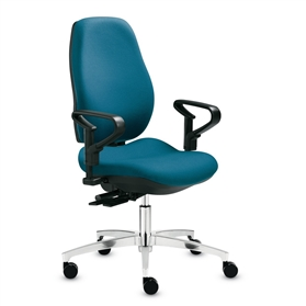 Dauphin Shape Economy High Back Swivel Chair