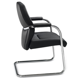 Dauphin Shape Executive Cantilever Visitor Chair