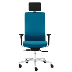 Dauphin Shape XP High Back Office Chair with Neckrest