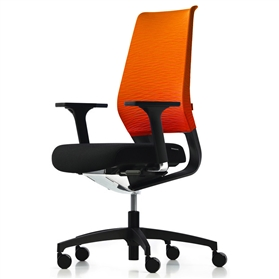 Dauphin X-Code Black Edition - Orange Back