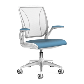 Humanscale Diffrient World Chair Fabric Seat (Design Your Own)