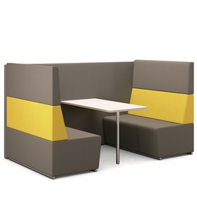 Edge Design Fifteen Diner Four Seat Booth