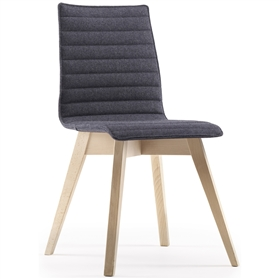 Edge Design Björn Upholstered Seat & Back Wooden Chair