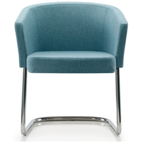 Edge Design Zone Tub Chair, Cantilever Base