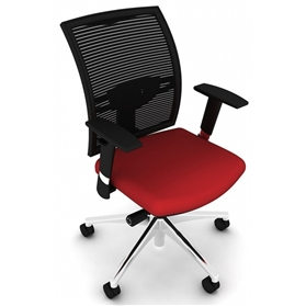 Elite Loreto Swivel Office Chair with height adjustable arms