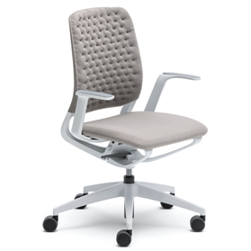 Sedus se:motion Office Swivel Chair, Air Knit Upholstery