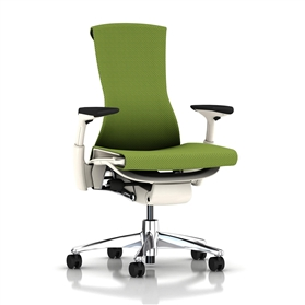 Herman Miller Embody White Balance, Green Apple