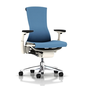 Herman Miller Embody White Balance Blue Moon