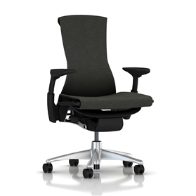 Herman Miller Embody Mercer Charcoal, Titanium Base