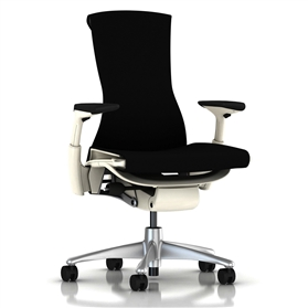 Herman Miller Embody White, Black Rhythm