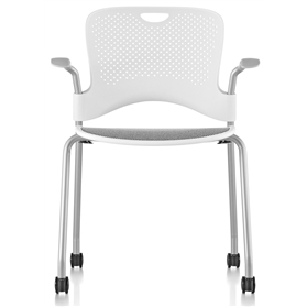 NEXT DAY DELIVERY! Herman Miller Caper Conference Chair Studio White