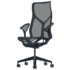 Herman Miller Cosm High Back Office Chair, Nightfall