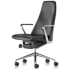 Herman Miller Geiger Taper Executive Leather Chair