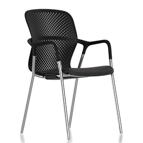 Herman Miller Keyn Chair, 4 Leg