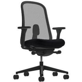 NEXT DAY DELIVERY! Herman Miller Lino Office Chair Black Edition, Pitch Black