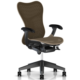 Herman Miller Mirra 2 - Cappuccino Graphite Frame and Base