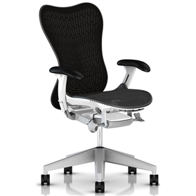 Herman Miller Mirra 2 Graphite  White Frame Fog Base
