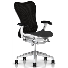 Herman Miller Mirra 2 Graphite and White (Shop Soiled)