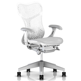Herman Miller Mirra 2, Triflex ll Back, Alpine White Edition