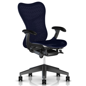 Herman Miller Mirra 2 Twilight Graphite Frame and Base
