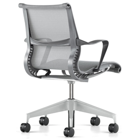 Herman Miller Setu Chair, Slate Grey Edition
